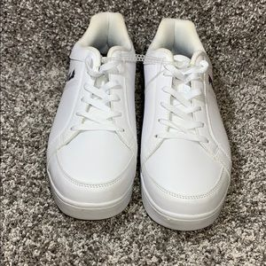 Fila Men's KEYSPORT Walking Shoe, white color.